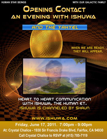 Ishuwa and the Yahyel - Hybrid Children of Earth: Human ETs, Open Contact, Shaun