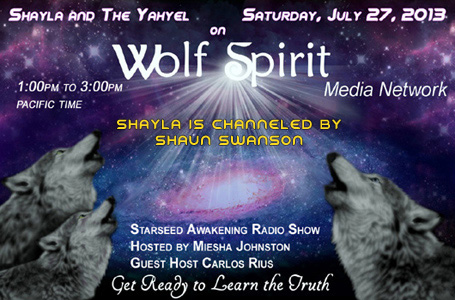 Shayla and the Yahyel - Human ETs, Open Contact, Shaun Swanson