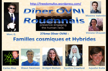 Ishuwa and the Yahyel - Hybrid Children of Earth: Human ETs, Open Contact, Shaun Swanson, Paris France