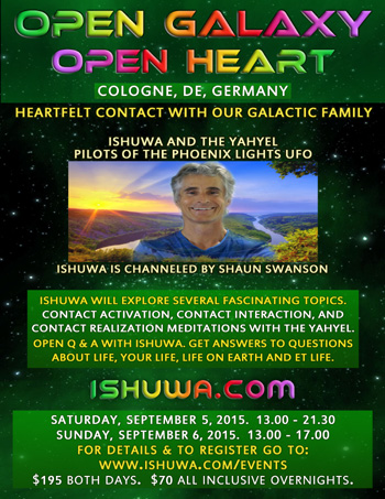 Ishuwa and the Yahyel - Hybrid Children of Earth: Human ETs, Open Contact