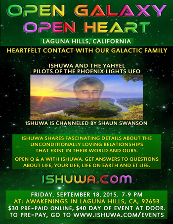 Ishuwa and the Yahyel - Human ETs, Open Contact, Shaun Swanson