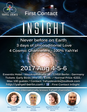 Ishuwa and the Yahyel - Hybrid Children, Human ETs, Open Contact, Shaun Swanson